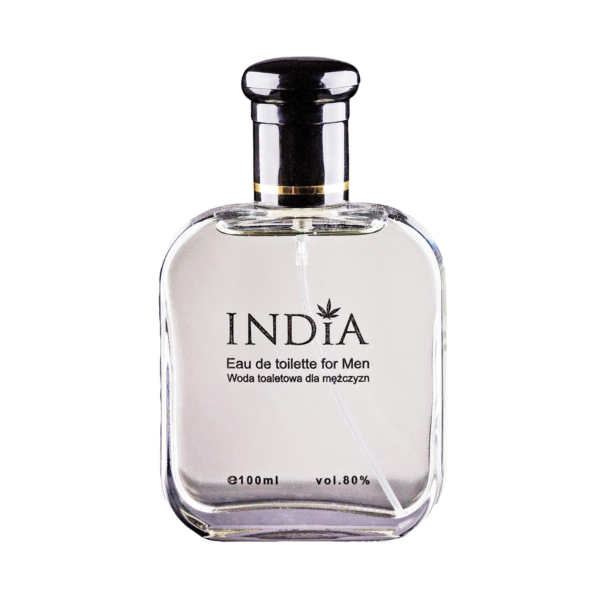 Eau de Toilette für Herren mit einem Hauch von Hanf von India Cosmetics