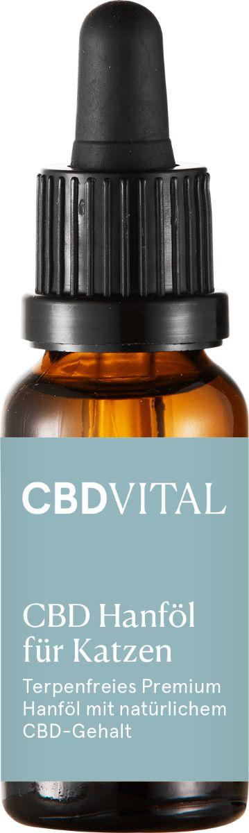CBDVITAL CBD Hanföl für Katzen - 20ml