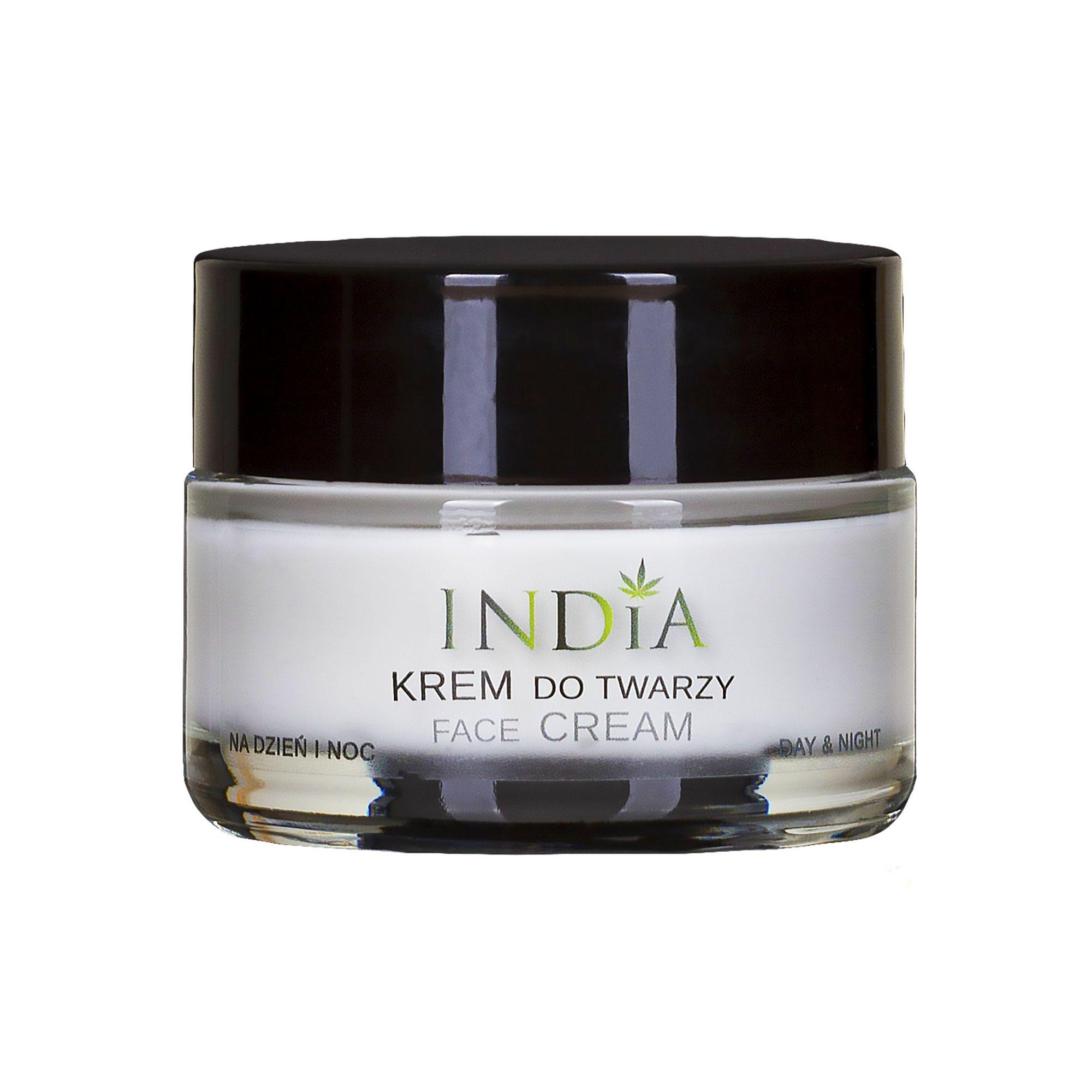 Gesichts-Creme mit Hanf-Öl von India Cosmetics