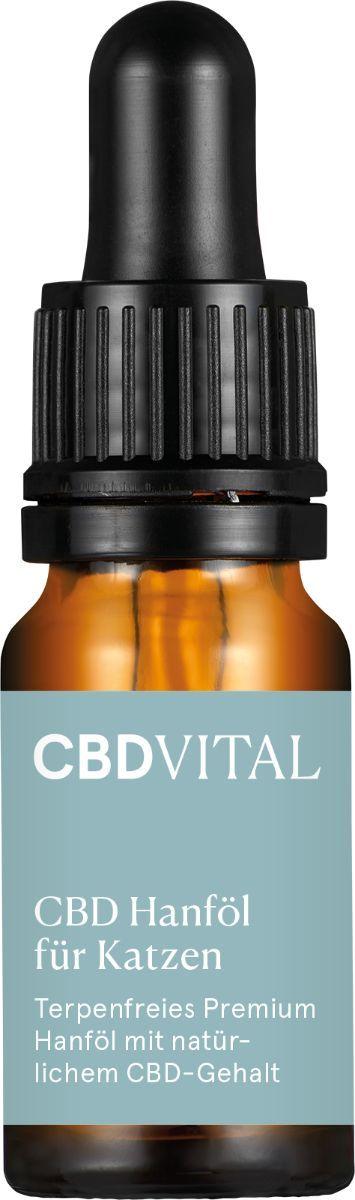 CBDVITAL CBD Hanföl für Katzen - 10ml