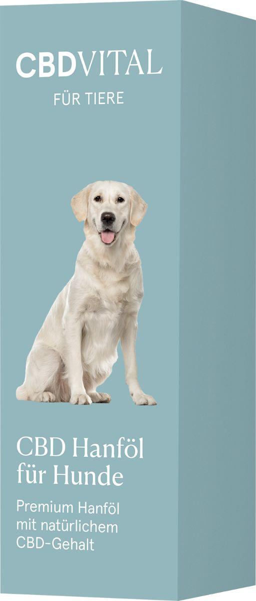 CBDVITAL CBD Hanföl für Hunde - 10ml